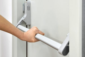 WHEN IS PANIC HARDWARE REQUIRED ON EXIT DOORS? Locksmith Denver